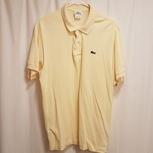 Lacoste Regular Fit Polo Shirt Size 6 xl Mens